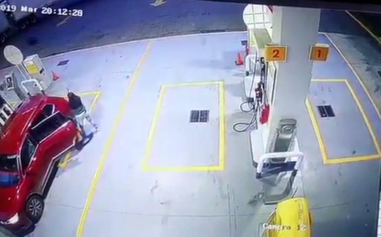 gasolinera, asalto, Puebla