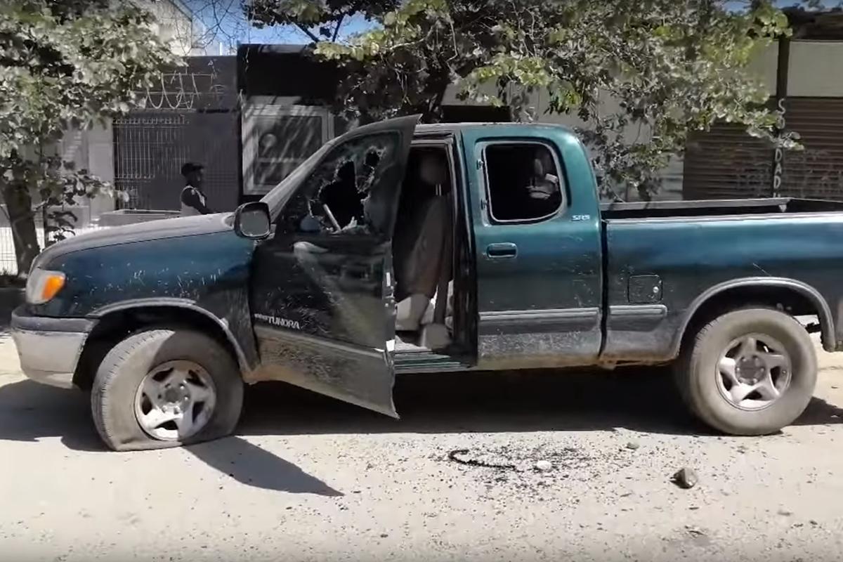 Oaxaca, balacera, enfrentamiento, balazos, transportistas, Trinidad de Viguera,