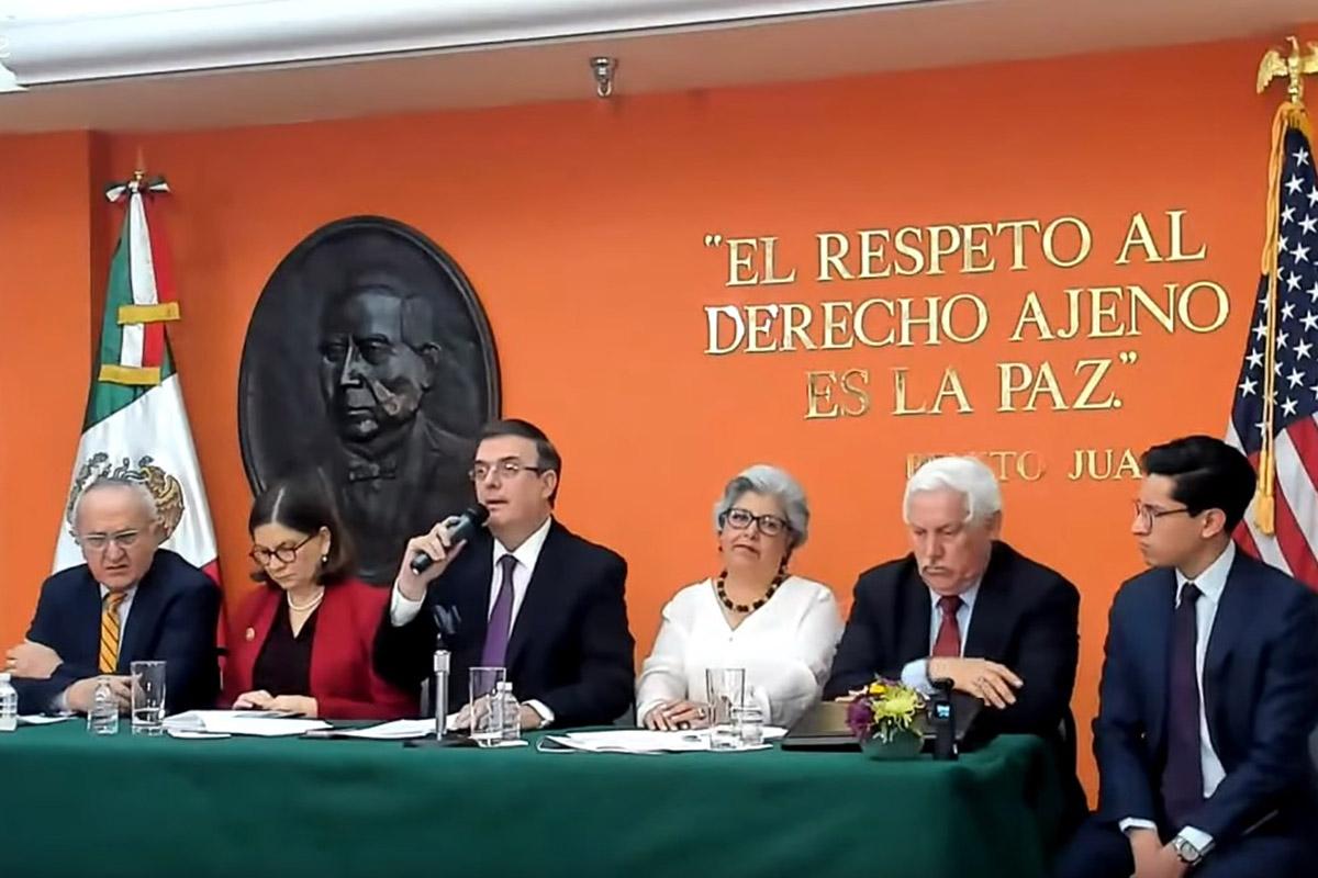Washington, Marcelo Ebrard, aranceles, represalias, Donald Trump,