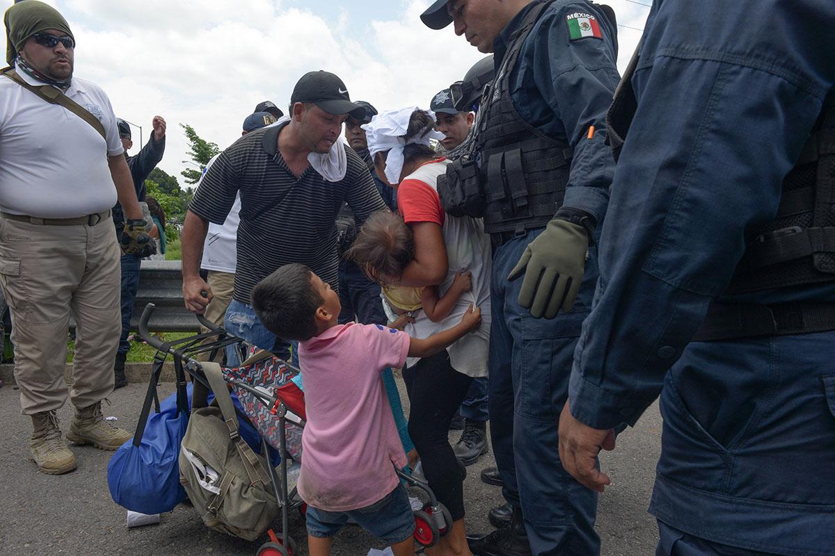 Tráfico de migrantes, Unidad de Inteligencia Financiera, Secretaría de Hacienda, caravanas, narcotráfico,