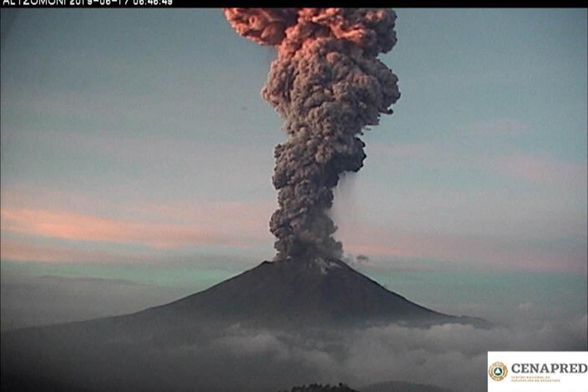 Volcán, Popocatépetl, fumarola, recomendaciones, Puebla, Edomex,