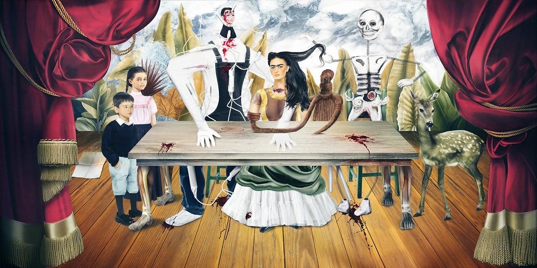 """La obra """"La mesa herida"""","""