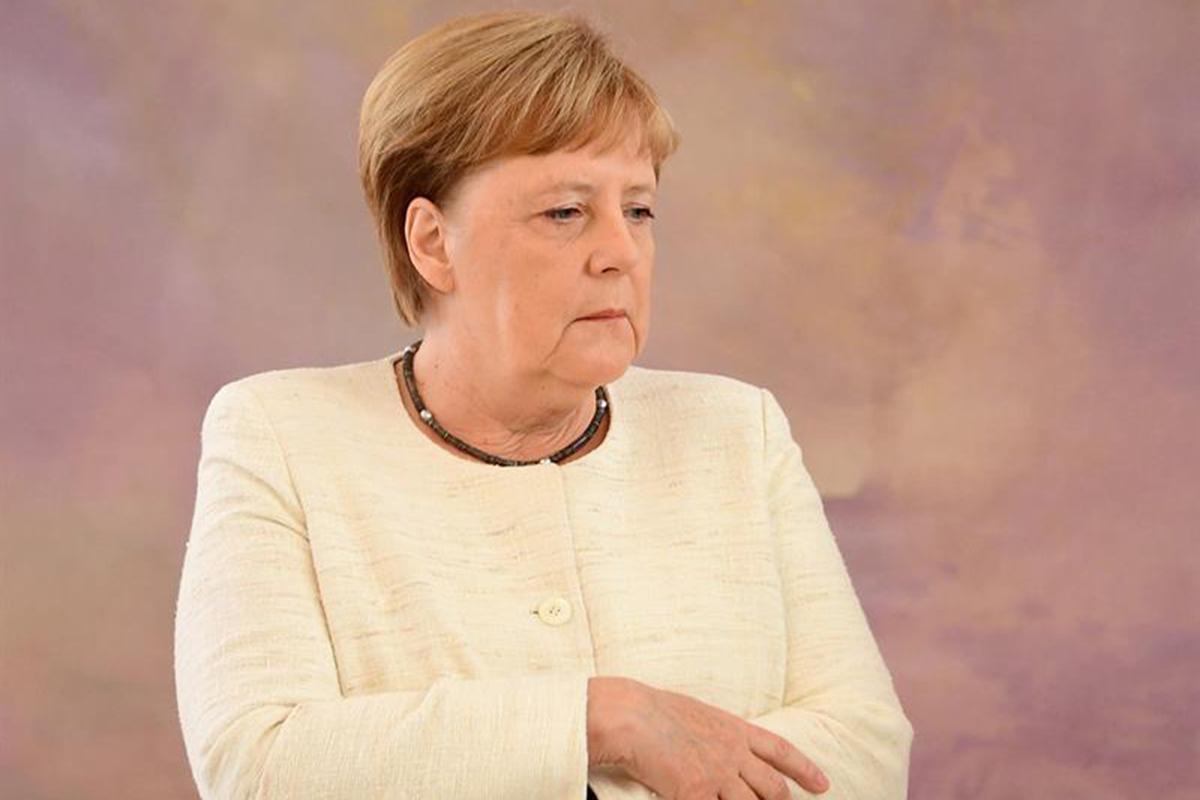 canciller alemana, Angela Merkel, Temblores, G20,