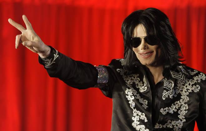 Michael Jackson en el anuncio de la gira que ya no fue