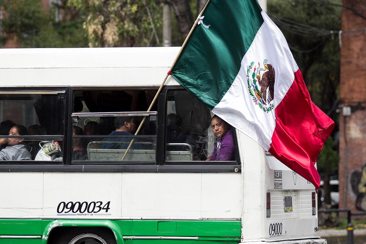 Microbús, calidad de aire, contingencia, verificación, Valle de México,