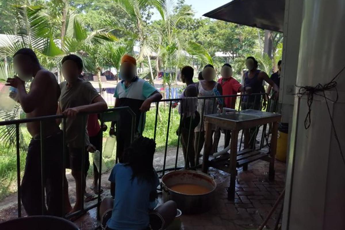 Tapachula, Migrantes, Africanos, haitianos, Feria Mesoamericana, Chiapas, mujer haitiana,