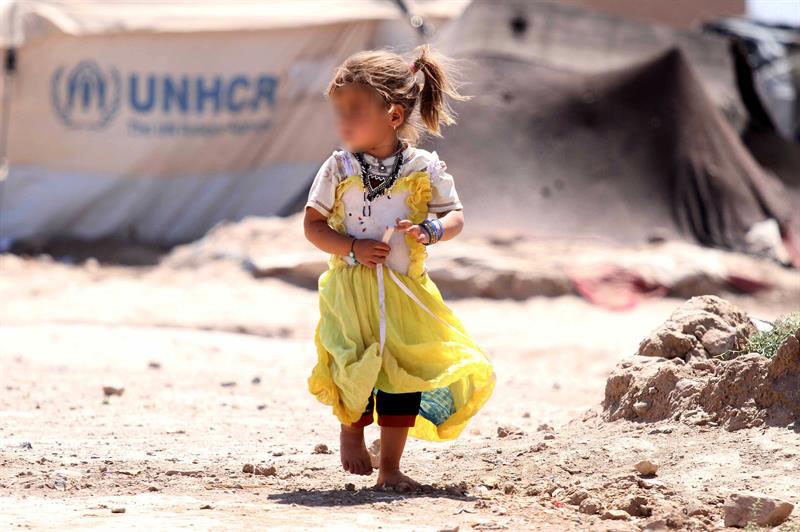 Refugiados, Guerra, infancia, niños