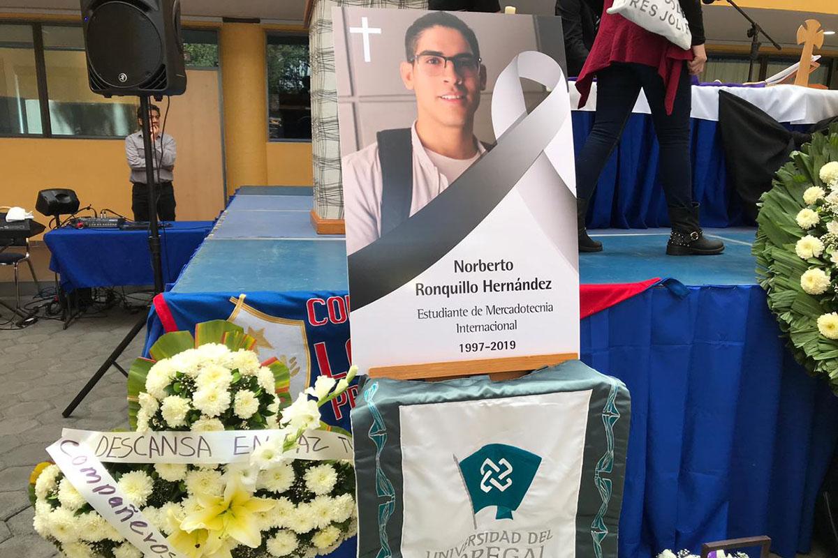 Norberto Ronquillo, Universidad del Pedregal, secuestro, Armando Martínez Gómez, Procuraduría, misa,