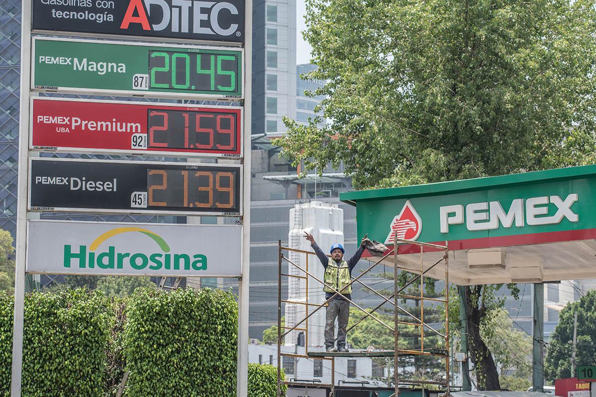 gasolinas, SHCP, Hacienda, Pemex, Diesel, Premiun,