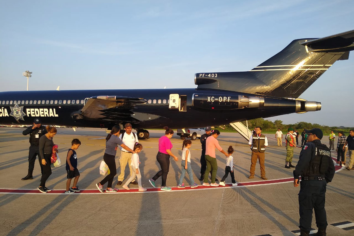 México, Honduras, migrantes, Migración, Instituto Nacional de Migración,