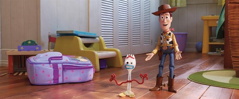 Escena de Toy Story 4