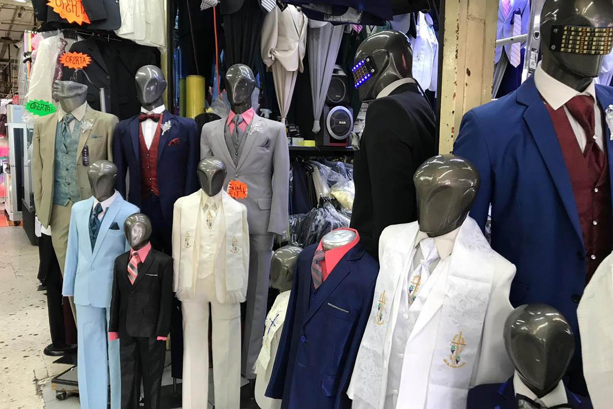 vestidos, trajes, graduación, Mercado Lagunilla, ciclo escolar,