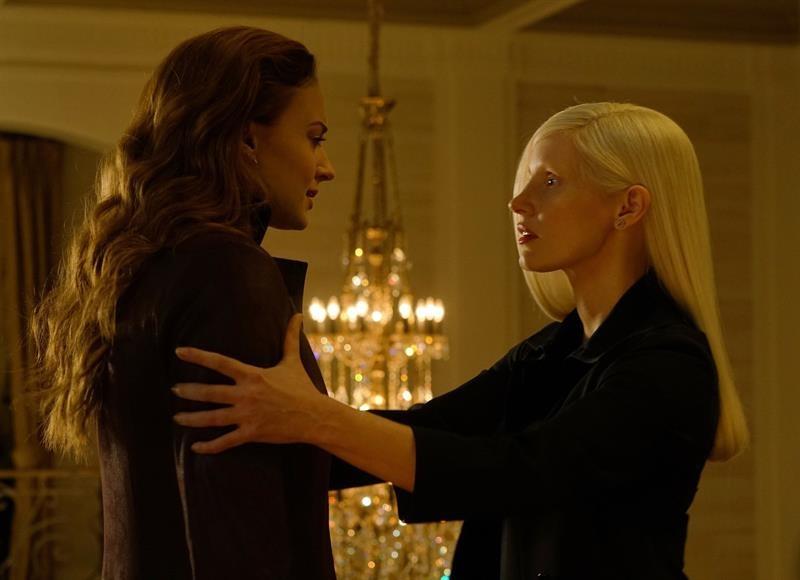 "Escena de ""X-Men Dark Phoenix"""
