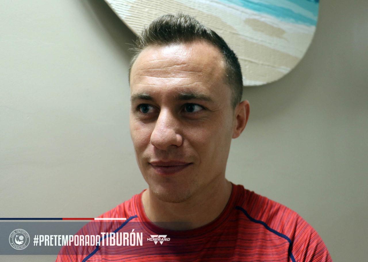 Abraham González se incorporó al Veracruz. Foto: Twitter