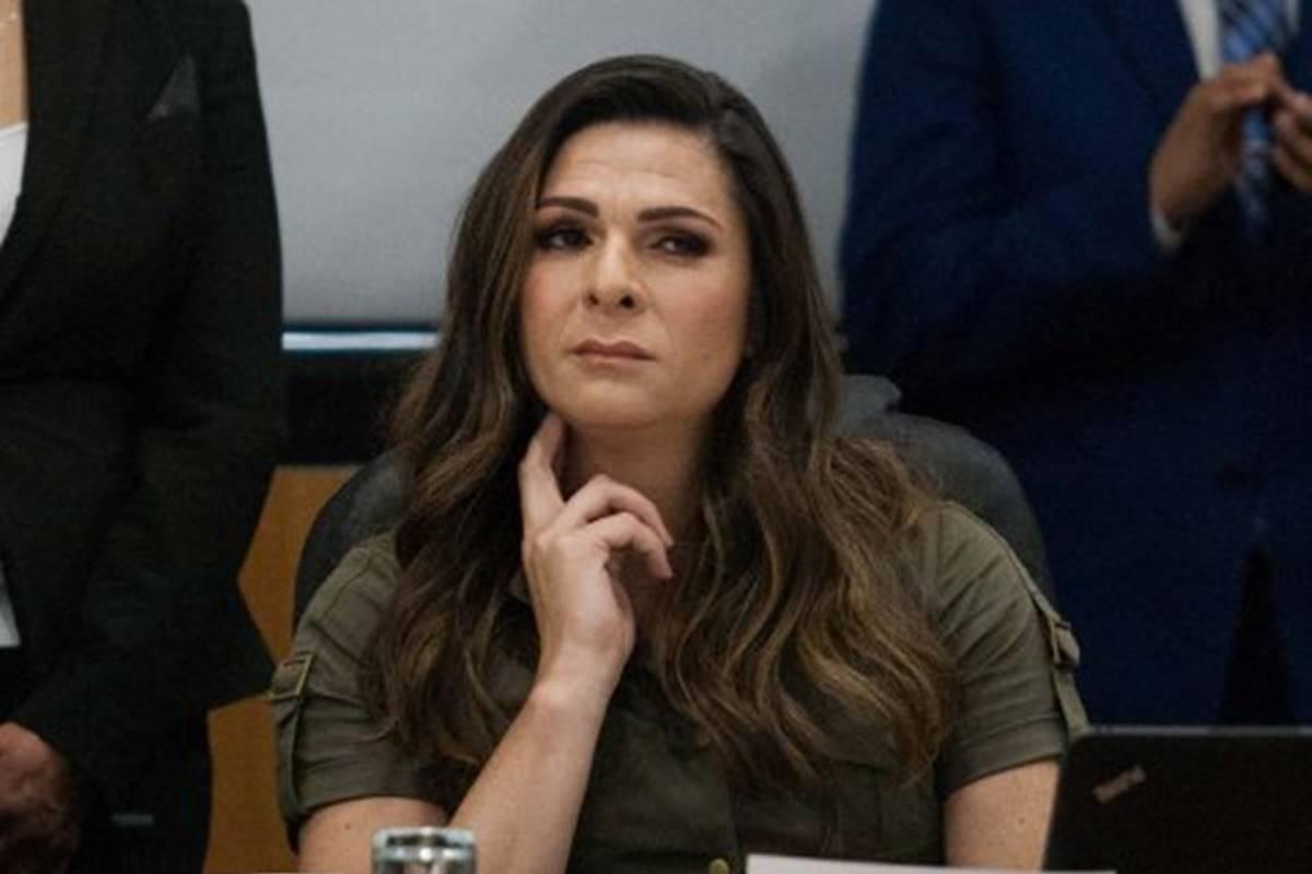 Ana Guevara compareció ante diputados. Foto: Twitter