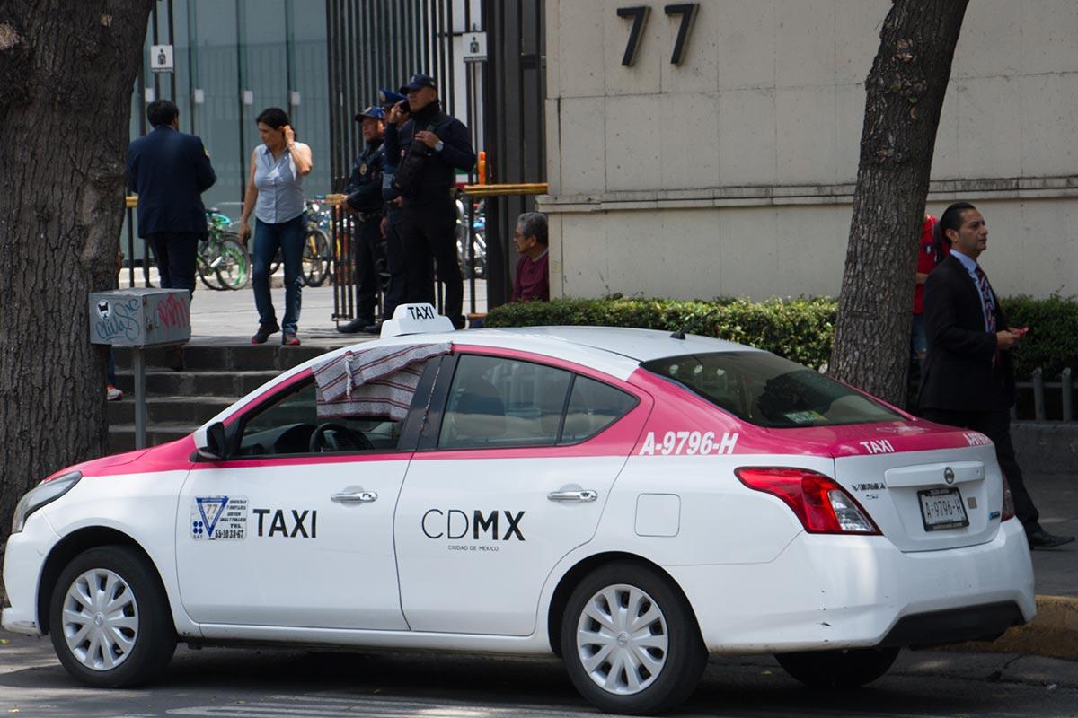 taxis, asaltos, transporte público, CDMX