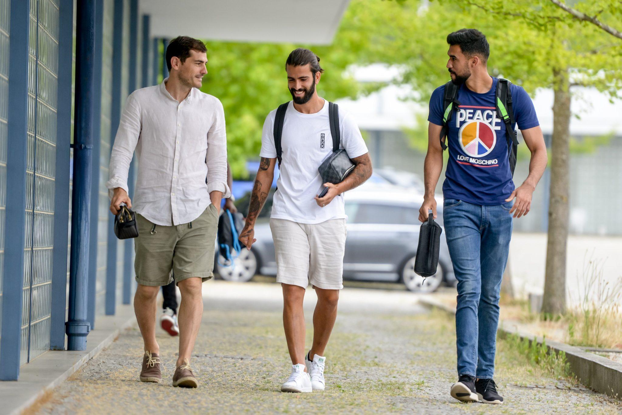 Casillas se reportó con el Porto. Foto: Twitter