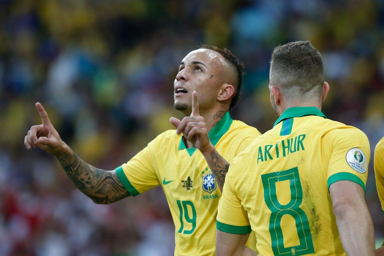Brasil, Monarca de la Copa América. Foto: Twitter