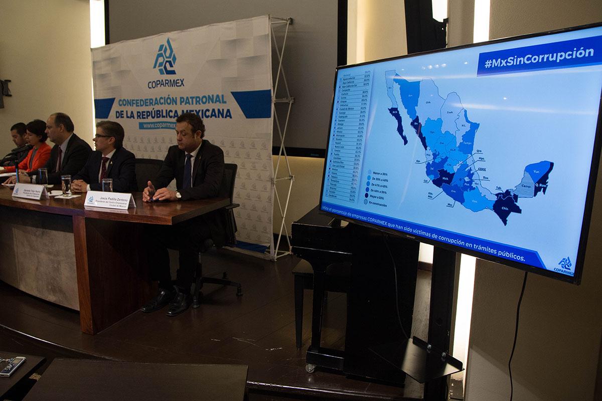 Coparmex, estados, Gustavo de Hoyos Walther, Auditoría Superior de la Federación, Sector privado,