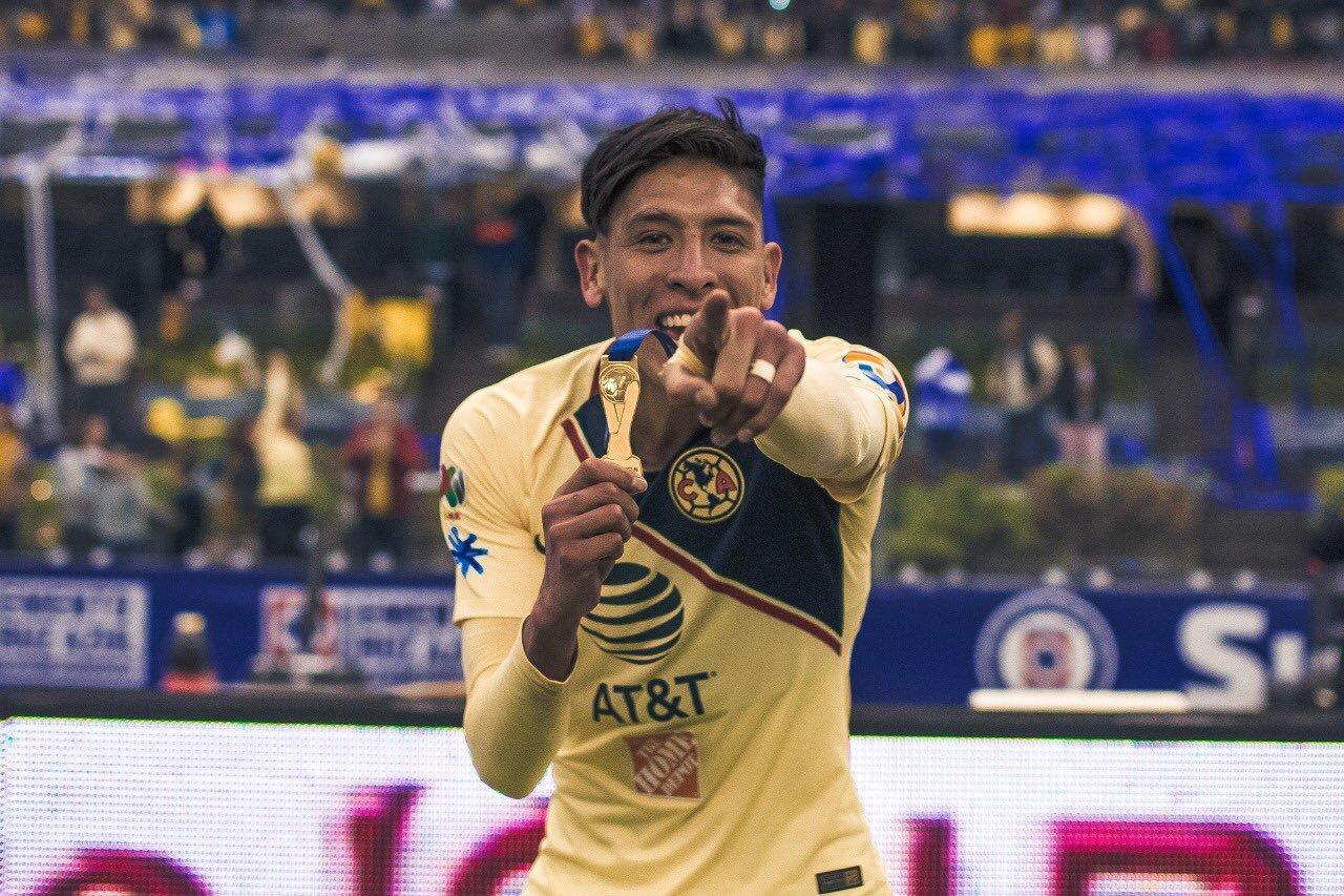 Edson Álvarez se despidió de América. Foto: Twitter
