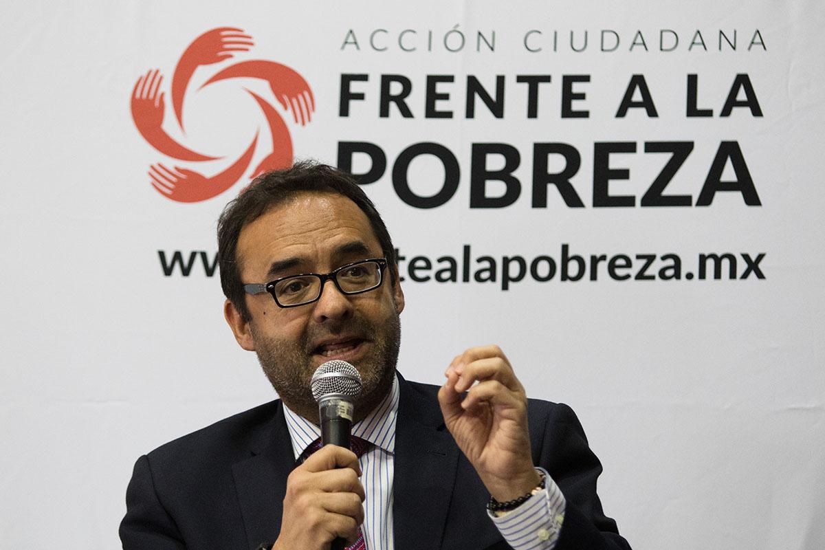 Gonzalo Hernández Licona, Coneval, José Nabor Cruz, Consejo Nacional de Evaluación de la Política de Desarrollo Social,