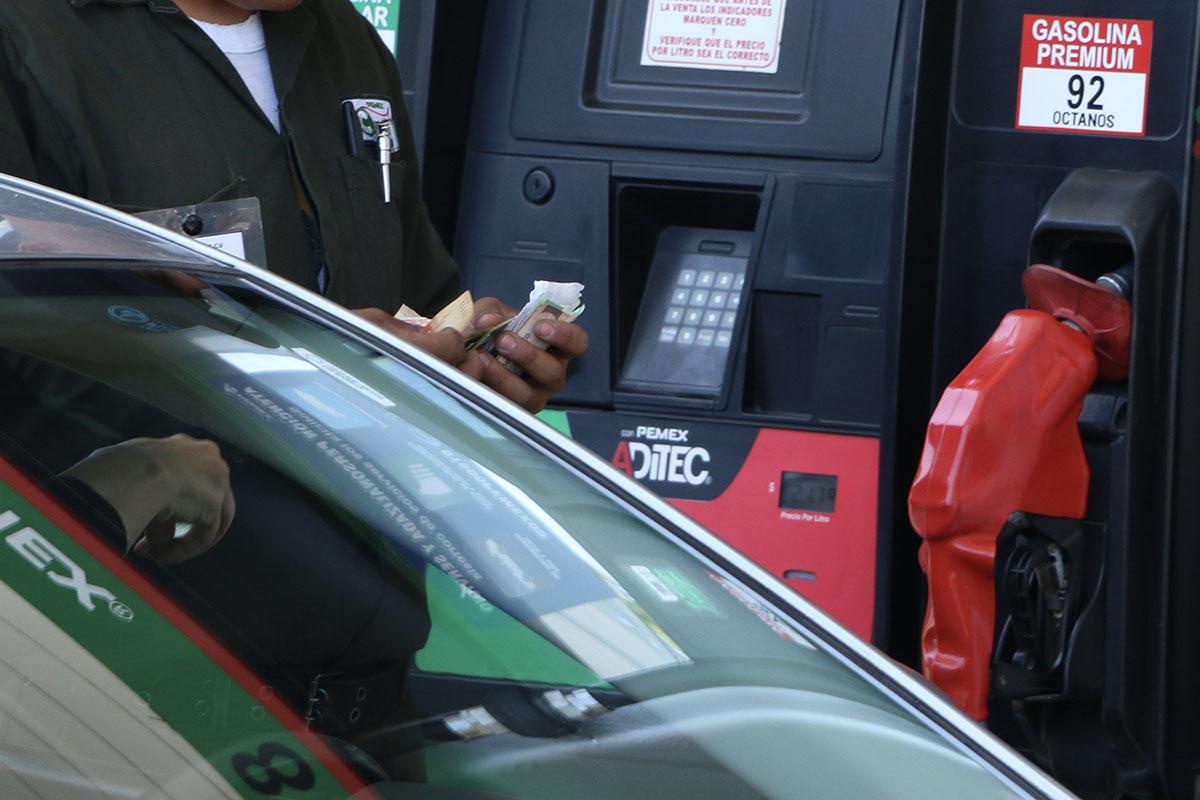 gasolinas, diésel, estímulo fiscal, SHCP,