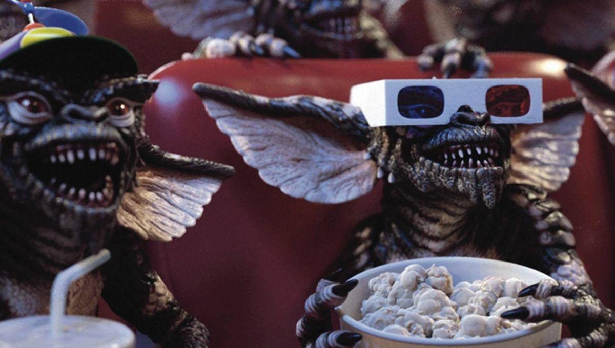 """Escena de """"Gremlins"""", película de 1984"""