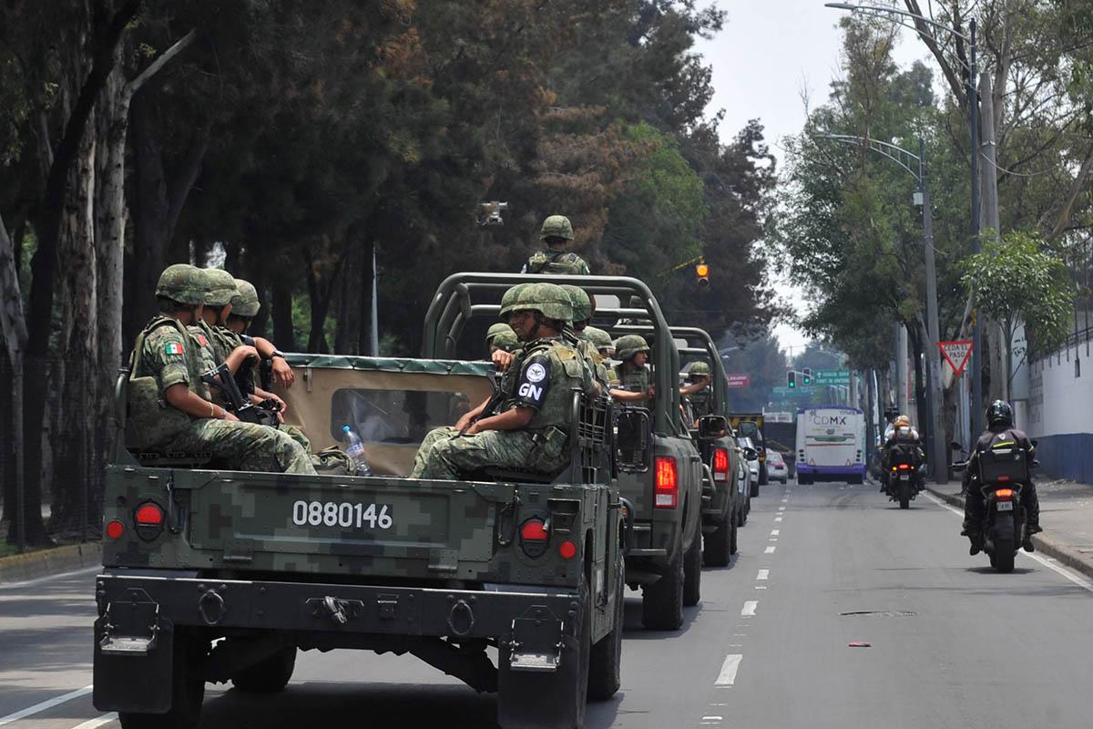 Guardia Nacional, CDMX, Iztapalapa, Iztacalco, Venustiano Carranza, Claudia Sheinbaum,