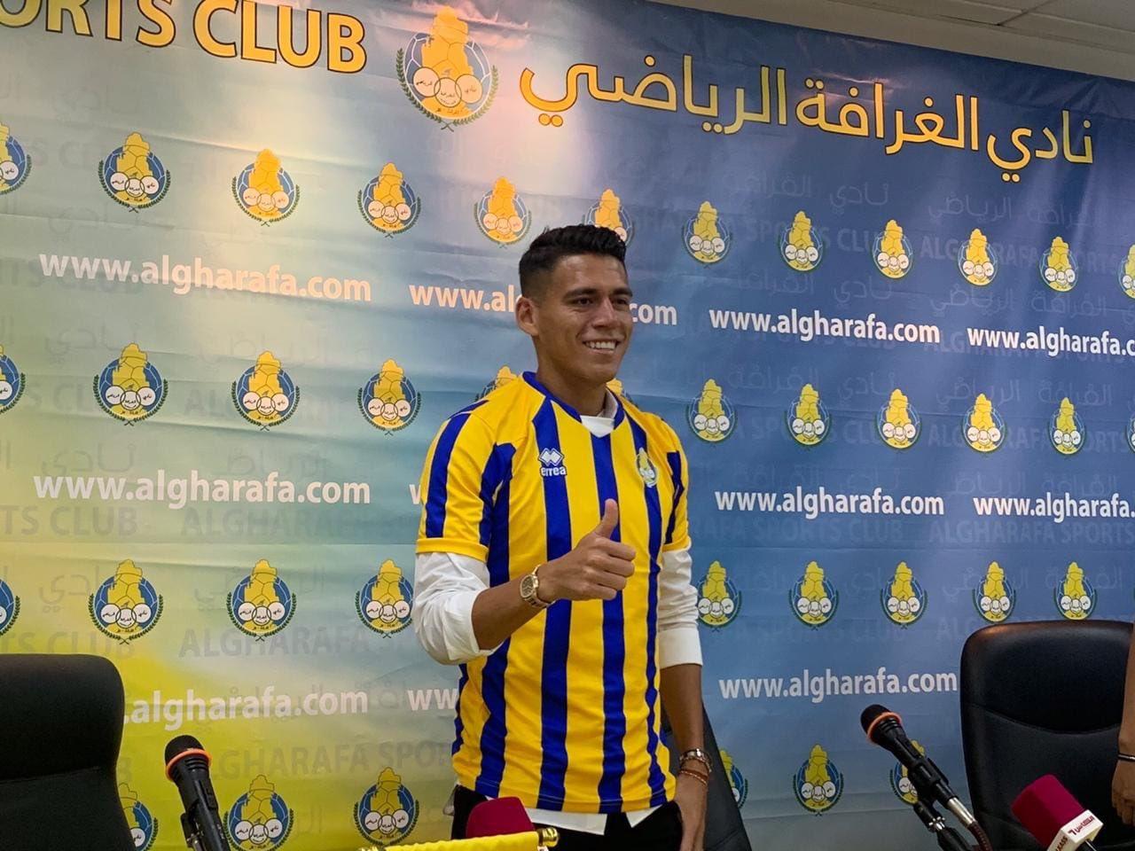 Héctor Moreno presentado con su nuevo equipo. Foto: Twitter