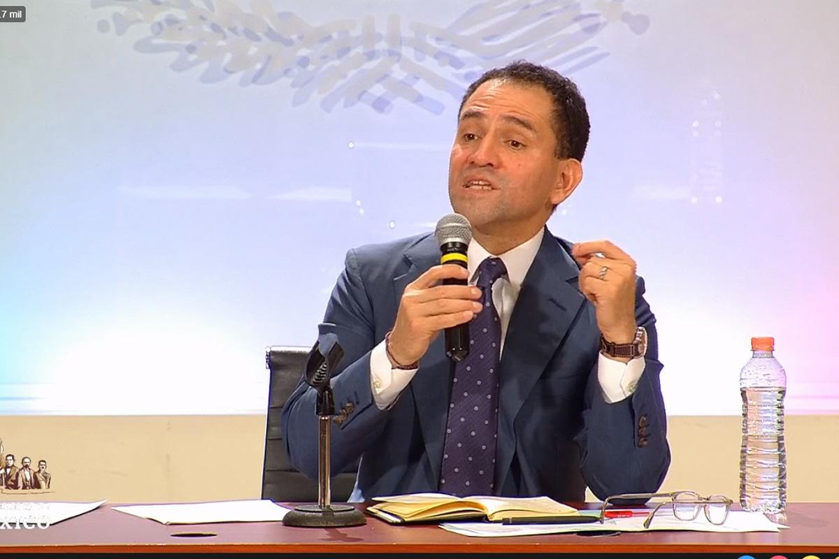Arturo Herrera, SHCP, Secretaría de Hacienda, conferencia de medios, Carlos Urzúa,