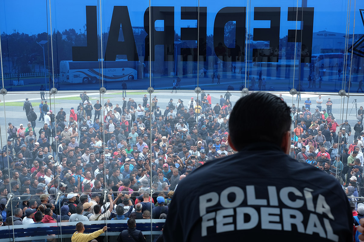 Policía Federal, Guardia Nacional, negociación, paro, Alfonso Durazo,