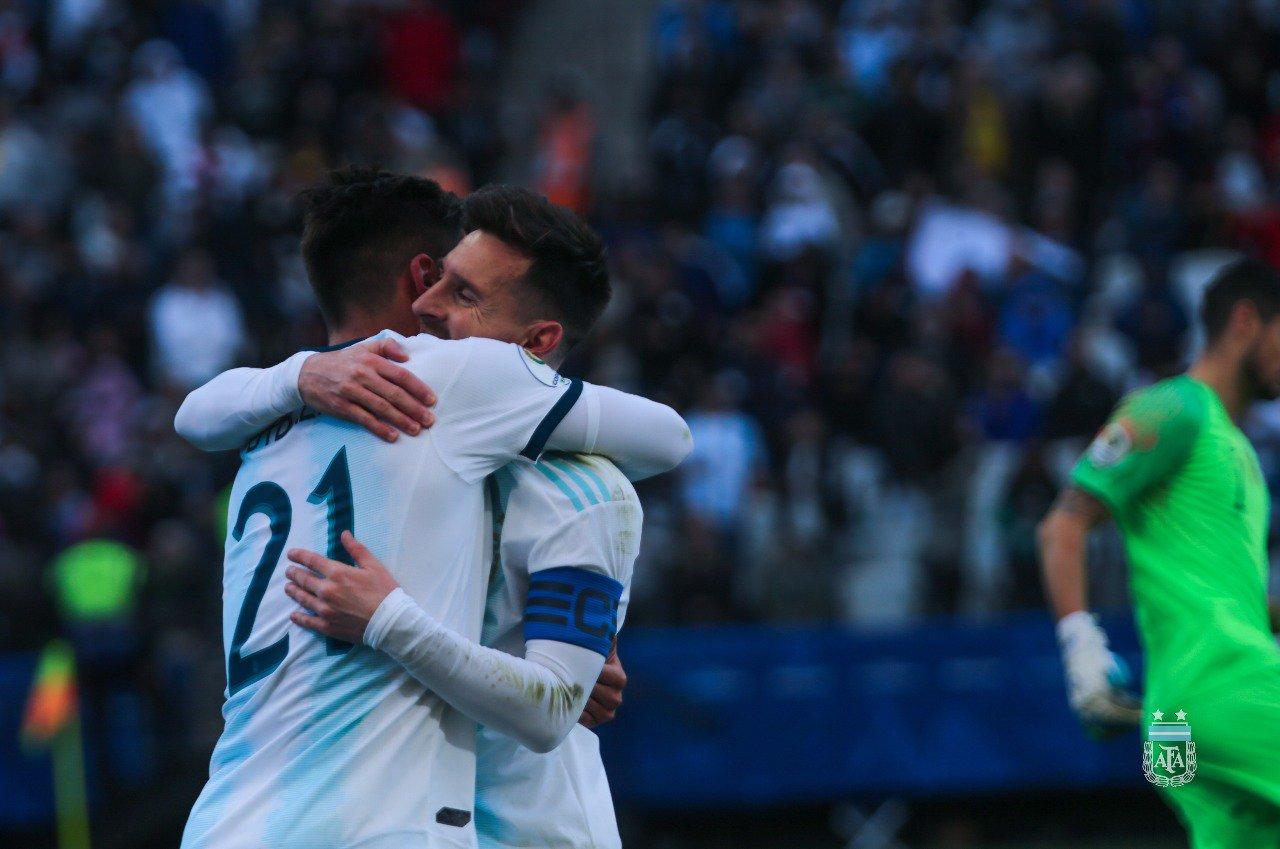 Conmebol castiga a Messi. Foto: Twitter