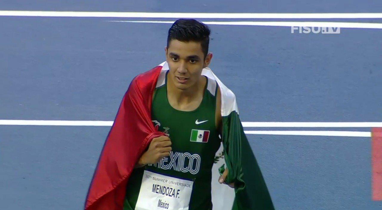 Consiguen medallas mexicanos en Nápoles. Foto: Twitter