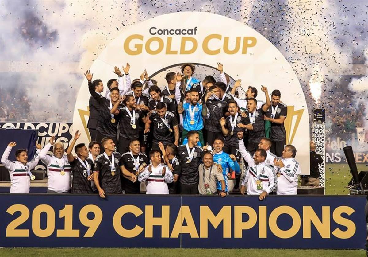 México se coronó en la Copa Oro: Foto: EFE