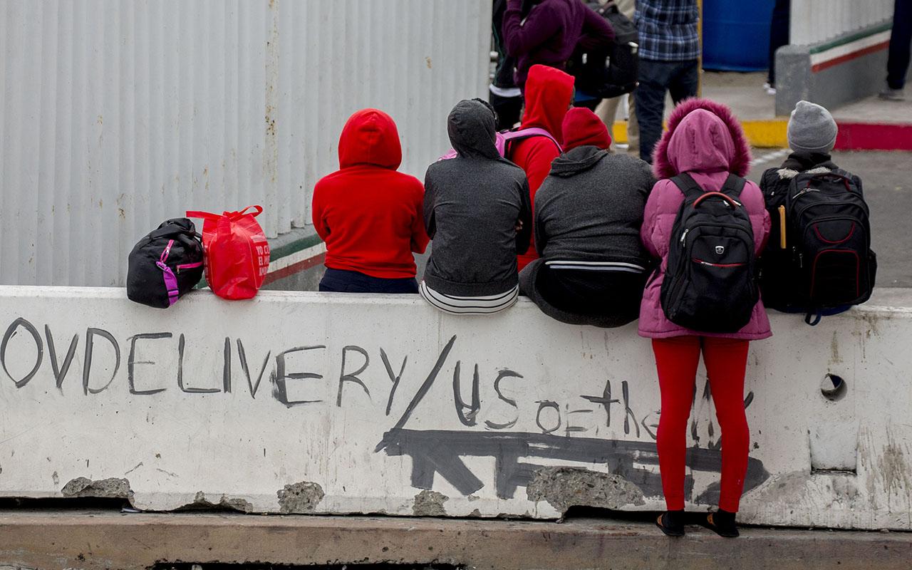 migrantes, Hondureños, caravana, Migración,
