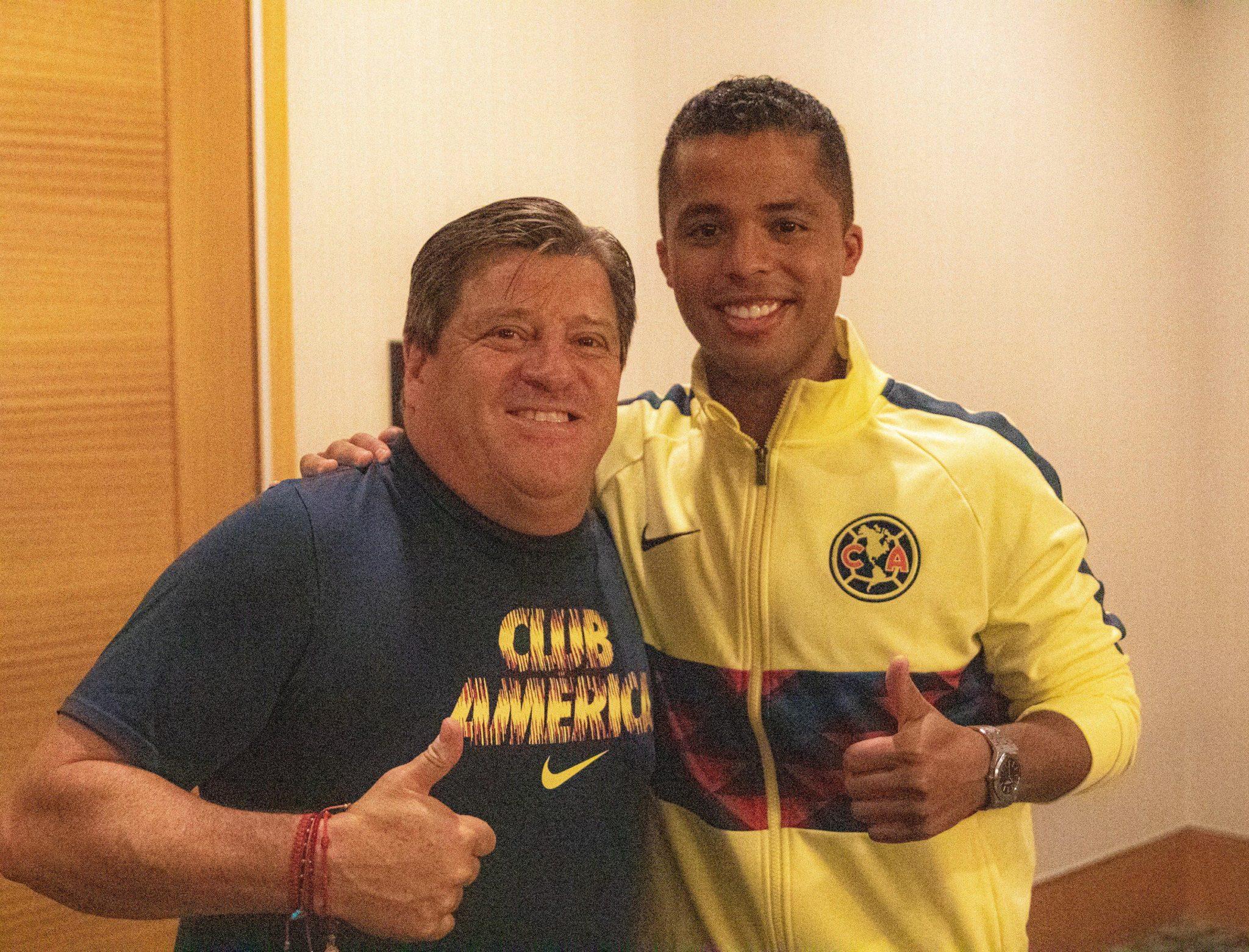 Se inegra Giovani dos Santos a los entrenamientos de América. Foto: Twitter