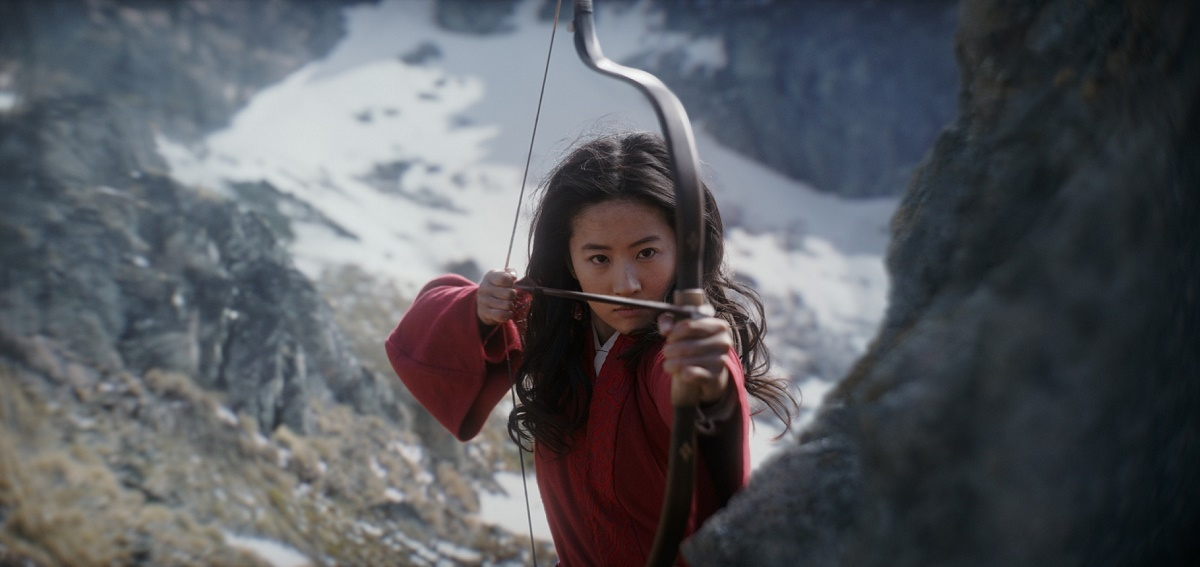 Mulan (Yifei Liu)..Photo: Film Frame..© 2019 Disney Enterprises, Inc. All Rights Reserved.