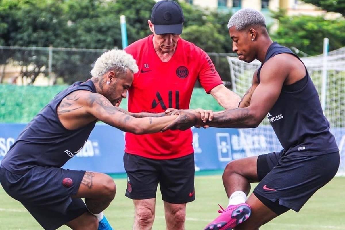 Neymar libró la primera batalla. Foto: Twitter