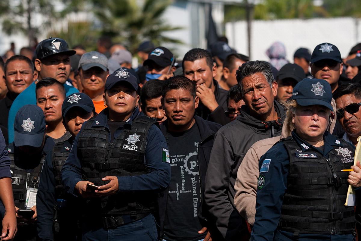 Policía Federal, Guardia Nacional, liquidación, paro, Alfonso Durazo,