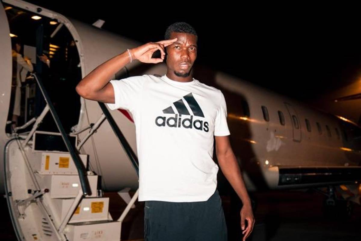 Pogba quiere salir del Manchester United. Foto: Twitter
