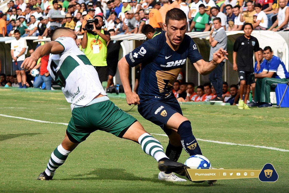 Pumas igualó con Zacatepec de cara al Apertura 2019. Foto. Twitter