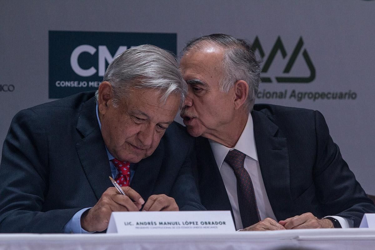 empresarios, Alfonso Romo, economía, Presidencia,