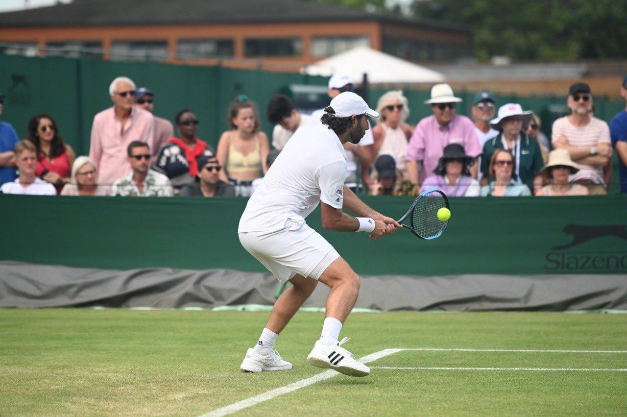 Santiago González quedó fuera de Wimbledon. Foto: Twitter