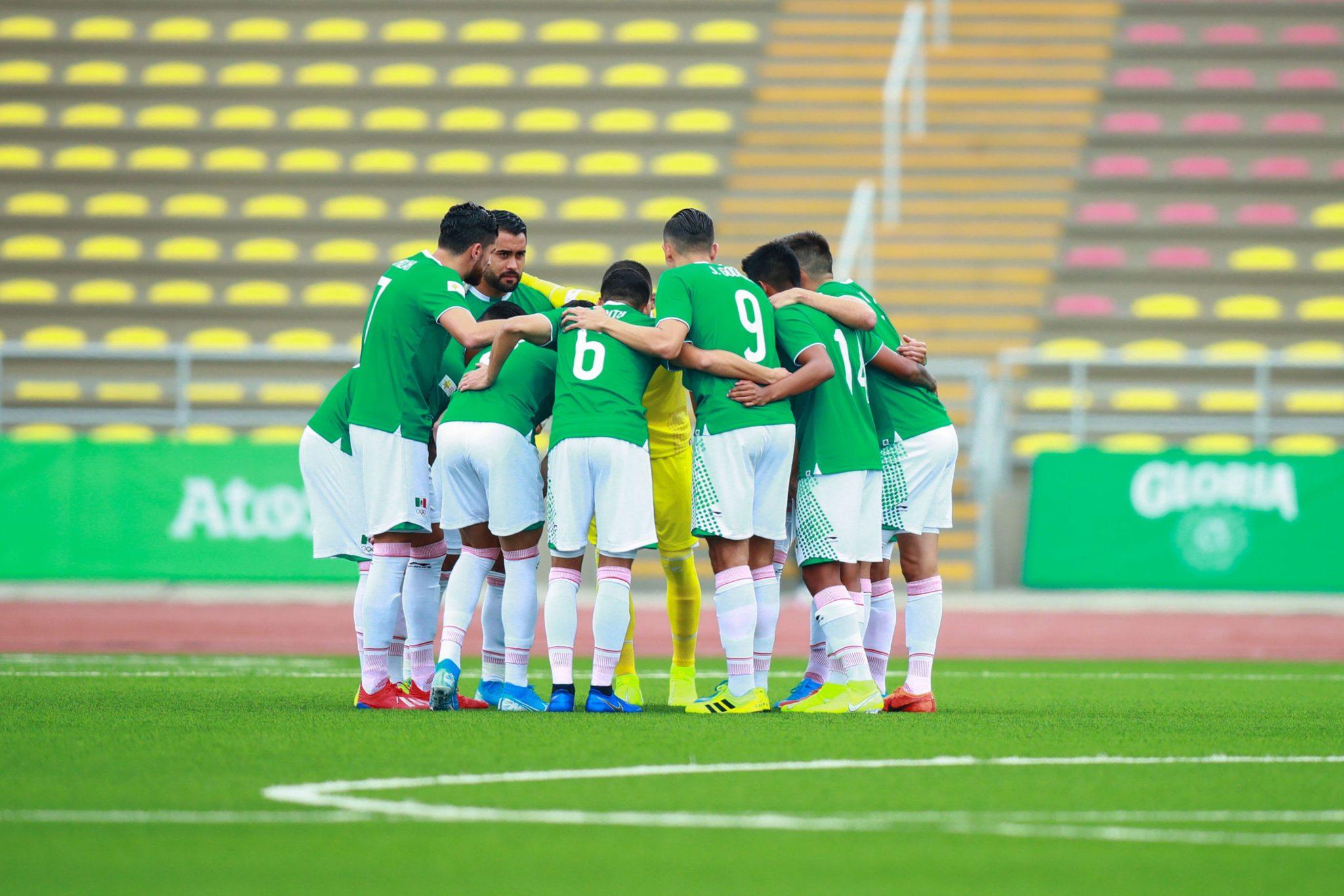 México no pudo en su debut. Foto. Twitter