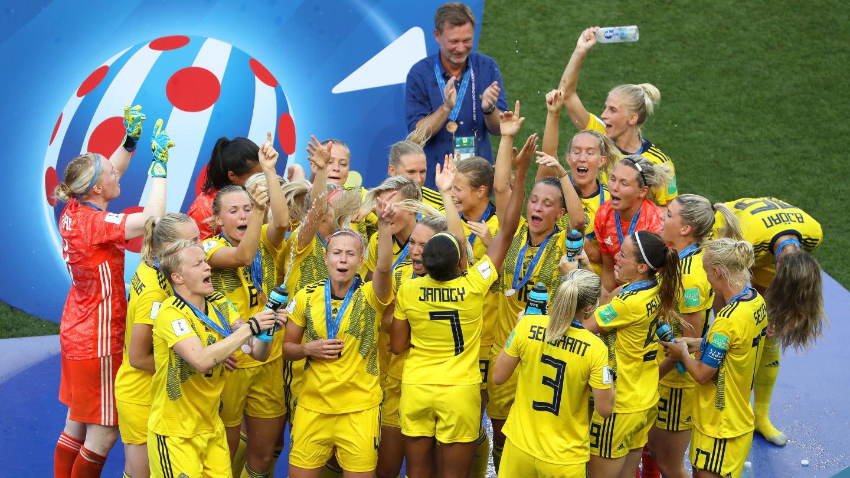 Suecia le pegó a Inglaterra. Foto: FIFA
