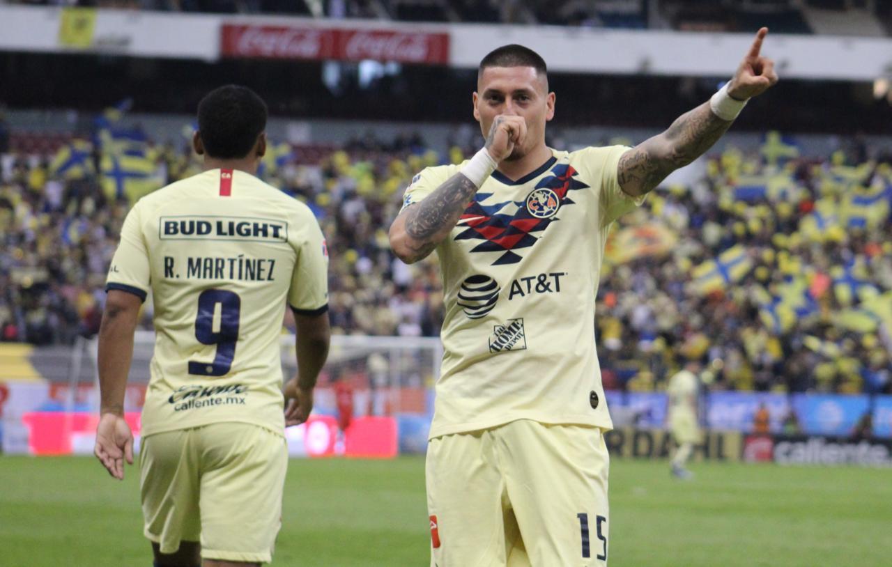 América le pegó al Monterrey. Foto: Twitter