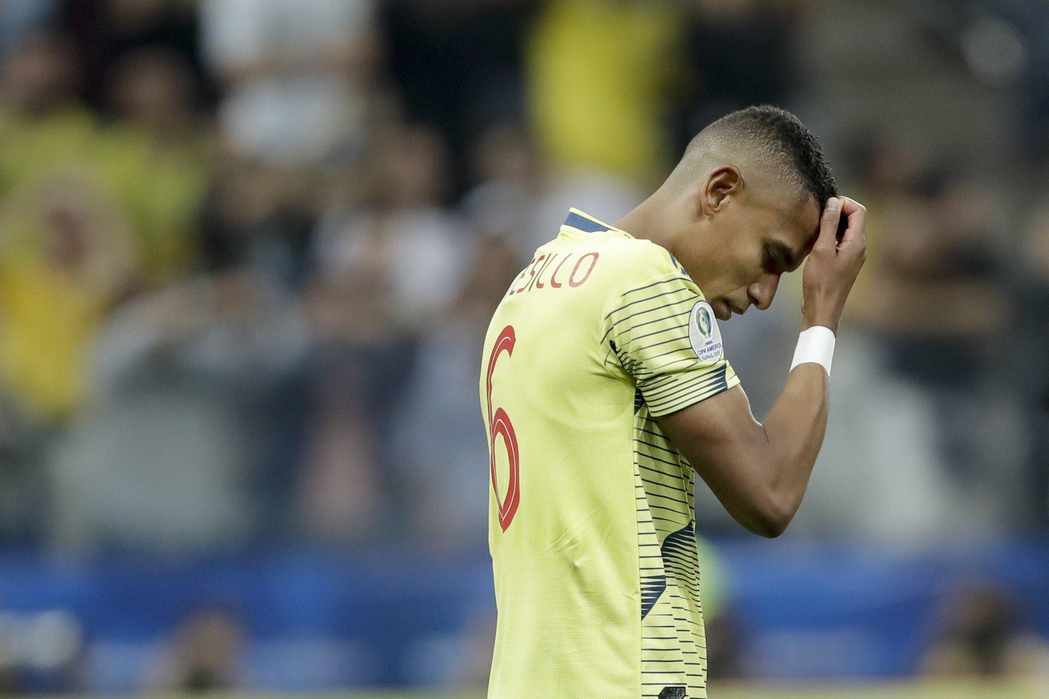 Amenazaron de muerte a jugador de Colombia. Foto: Twitter