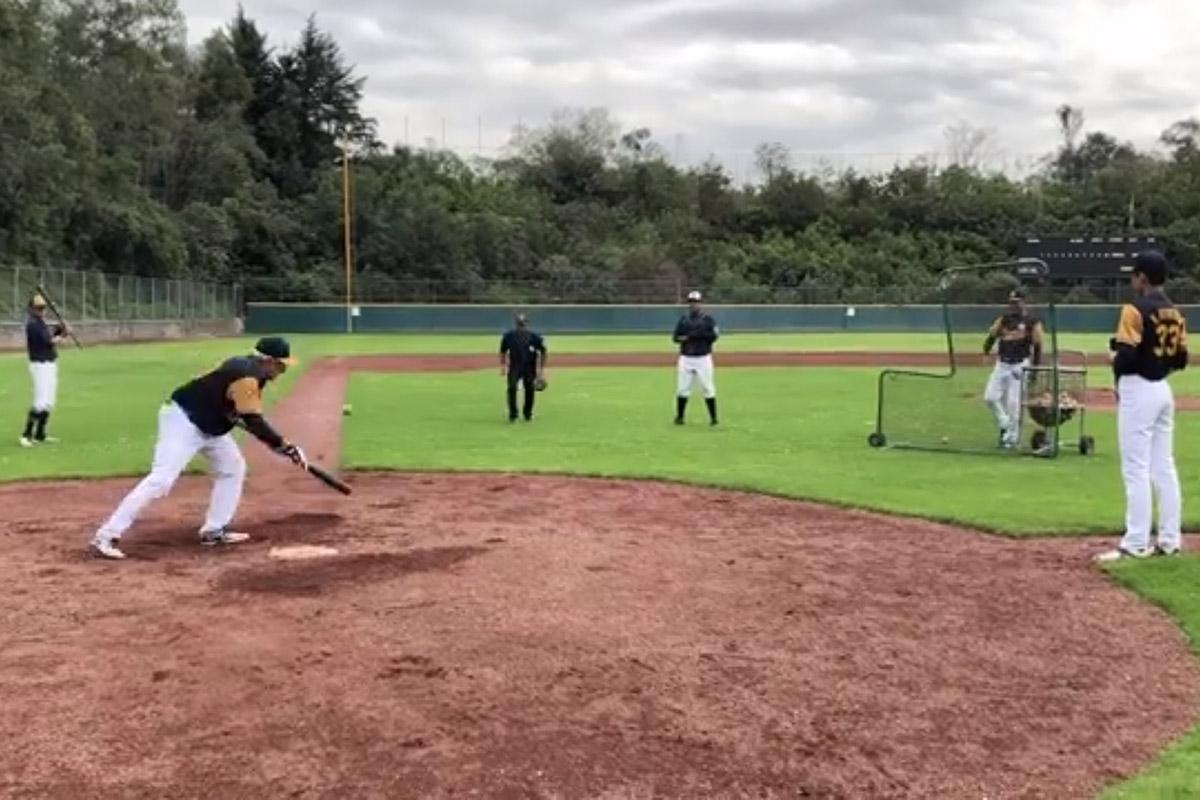 AMLO, Béisbol, Ciudad Universitaria, deporte, López Obrador,