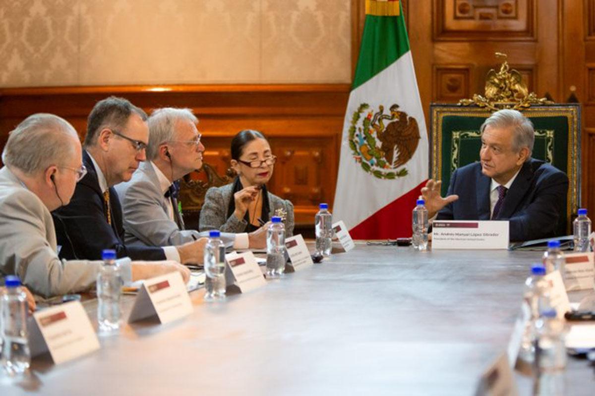 Demócratas, legisladores, Palacio Nacional, Andrés Manuel López Obrador, Reunión,
