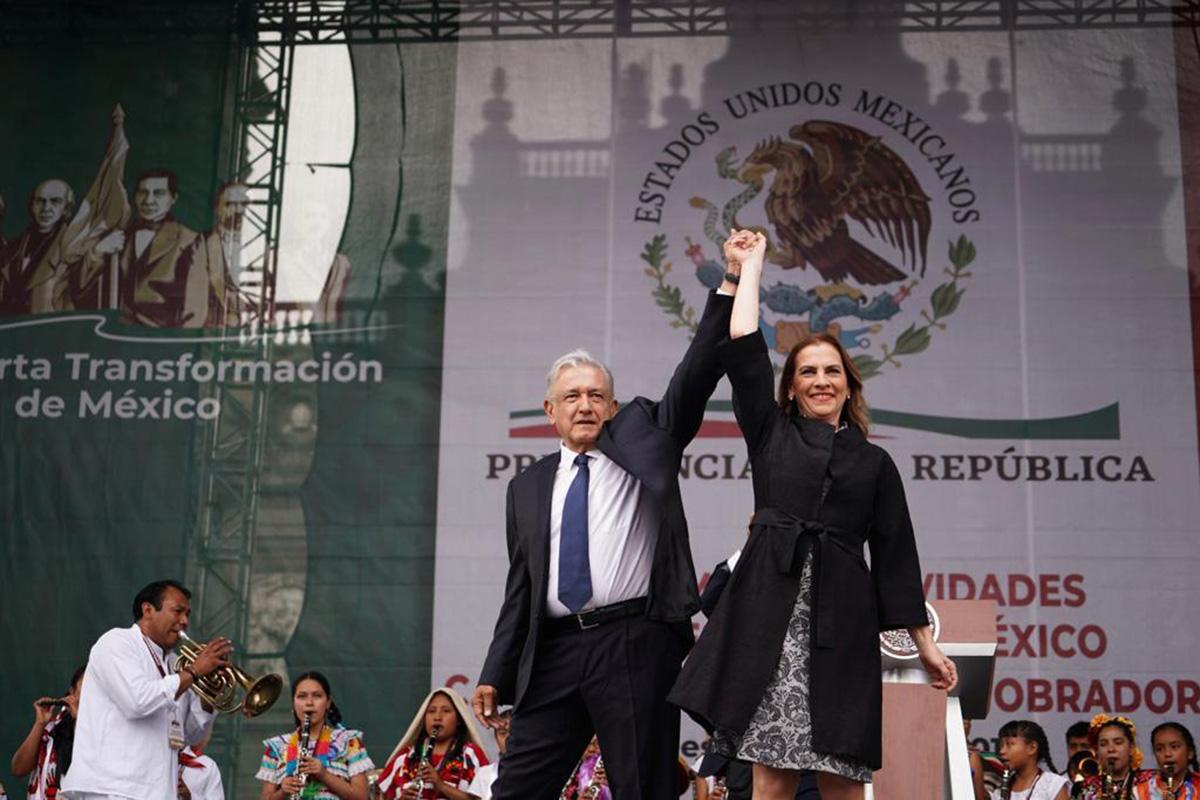 López Obrador, Zócalo capitalino, 01 julio, me canso ganso,